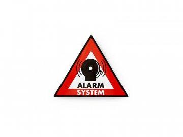 Samolepka výstražná NEDIS ALARM 5ks