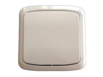 Vypínač Tango schodišťový č.6 komplet, bezšroubový bílá