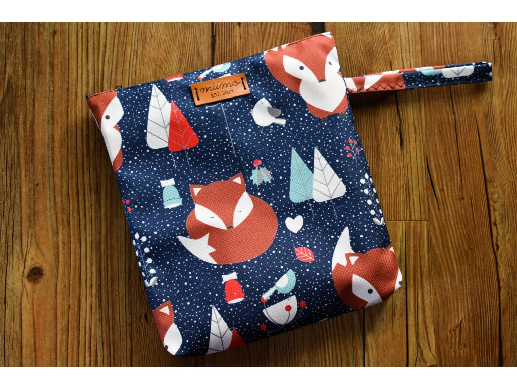 Pytlík na oblečení lišky