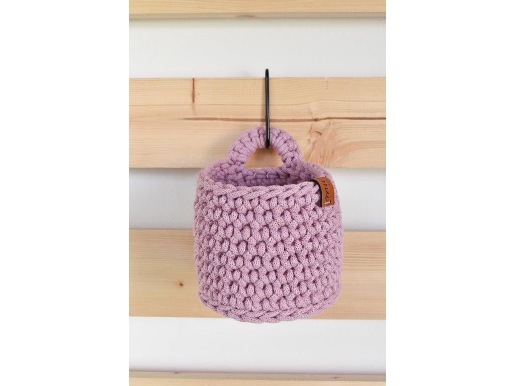 Košíček fialkový