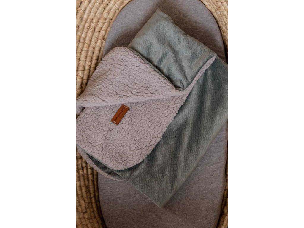 Beránková deka mint