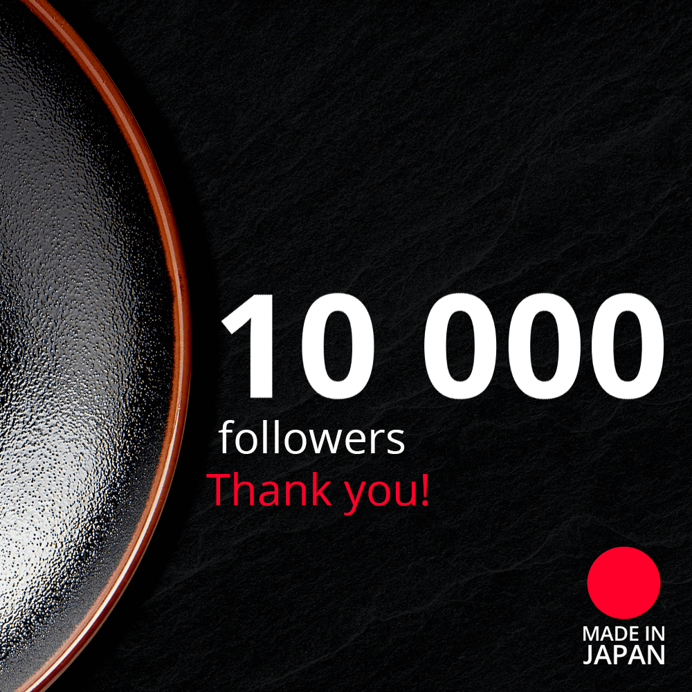 10 000 followers on Instagram for Made In Japan!