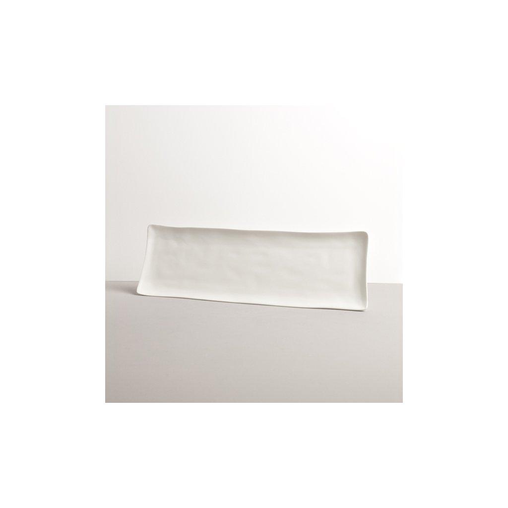 White Sashimi Plate, MODERN, 33 x 11 cm