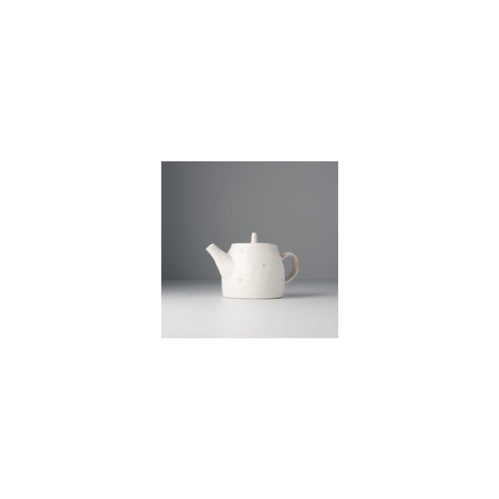 Teapot, TEACUP, white