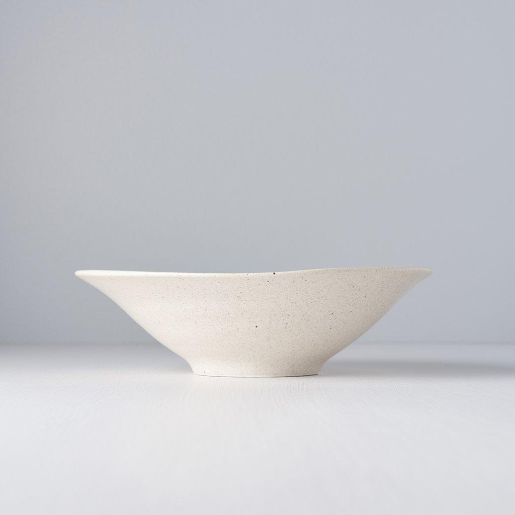 Design Bowl in Sand Colour 24,5 cm