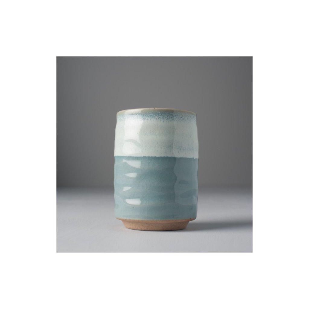 Mug without Handle, blue-white