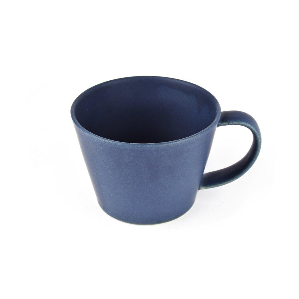 Tea cup, ink blue, 6,5 cm