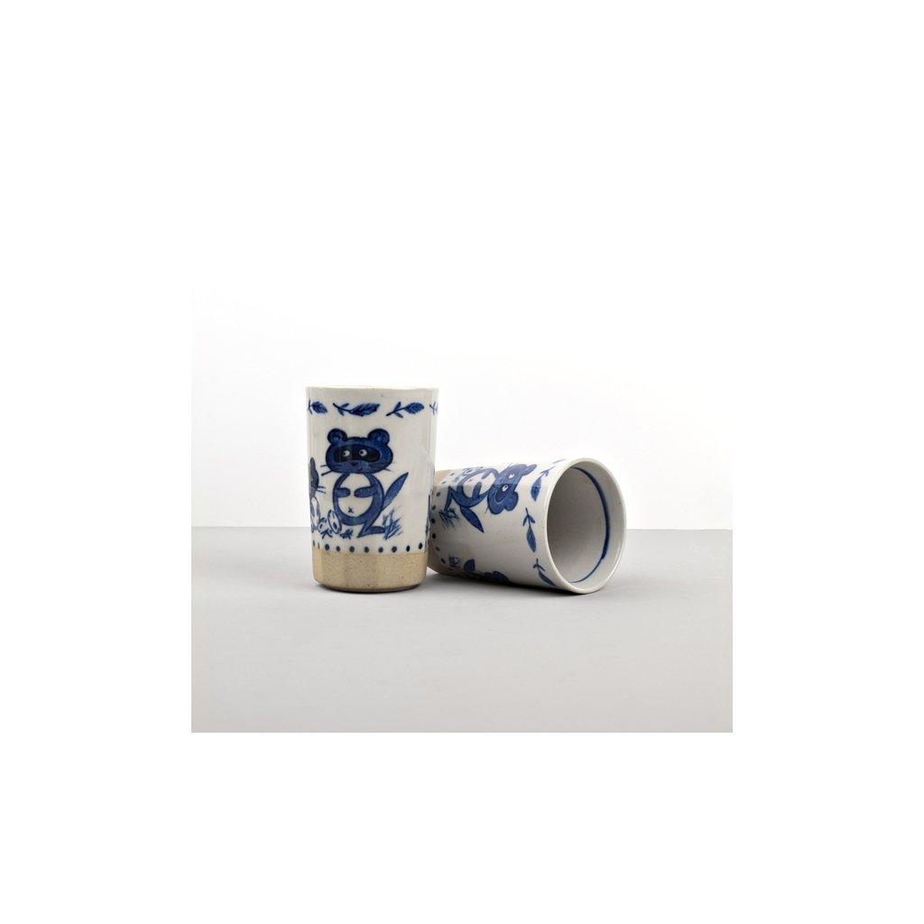 Mug with pictures of Raccoon, MUG SUSHI