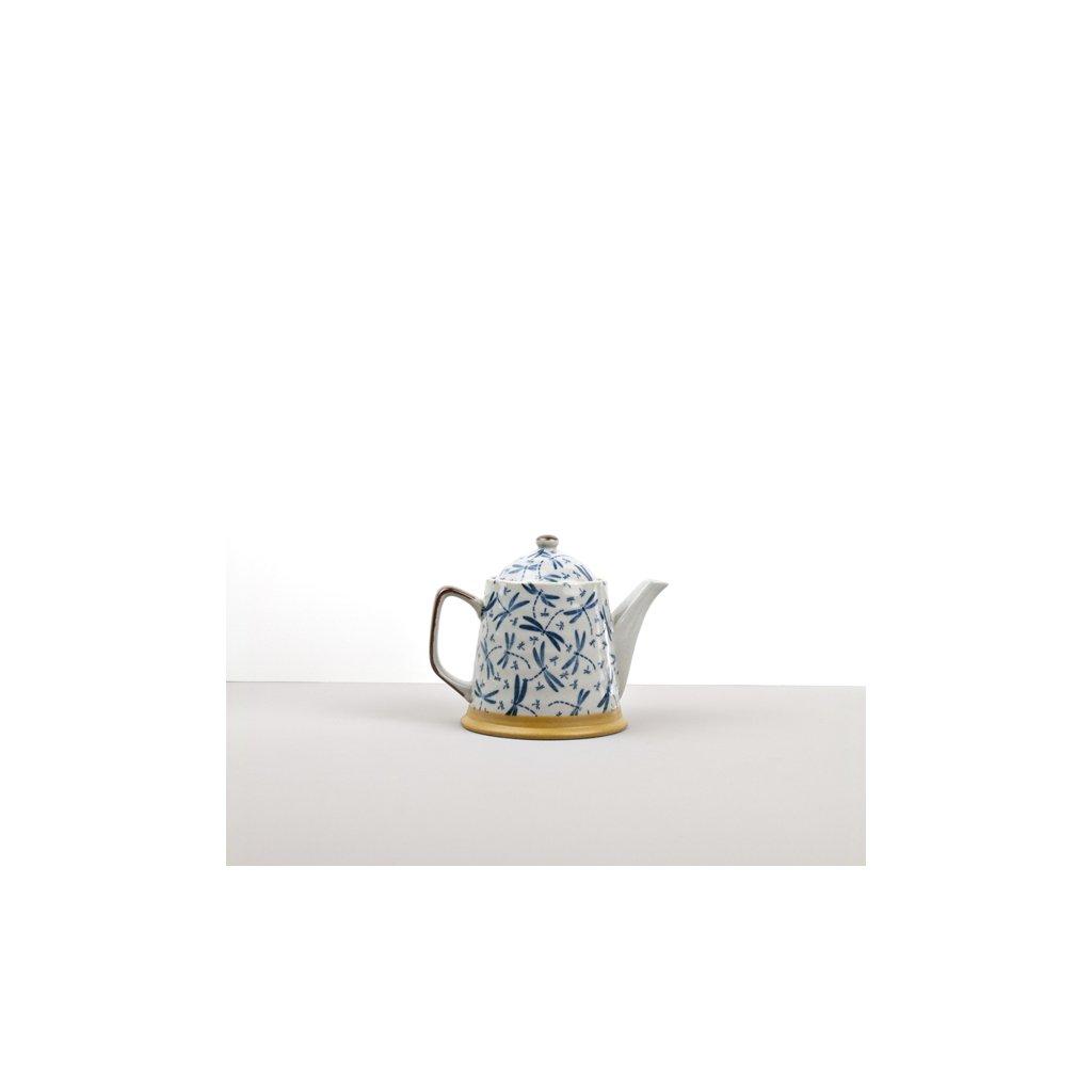 Tea pot Kasuri Dragonfly