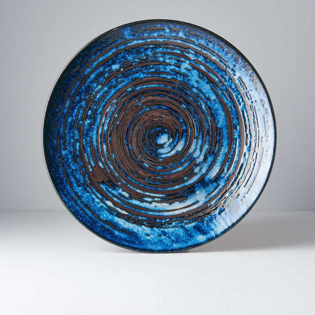Round Plate COPPER SWIRL 29 cm