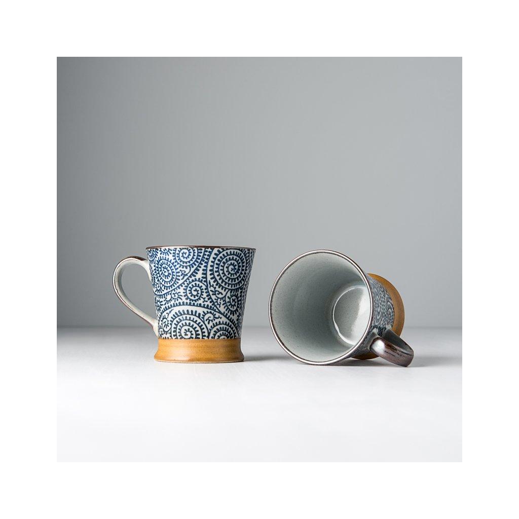 Small cup Kasuri Scroll