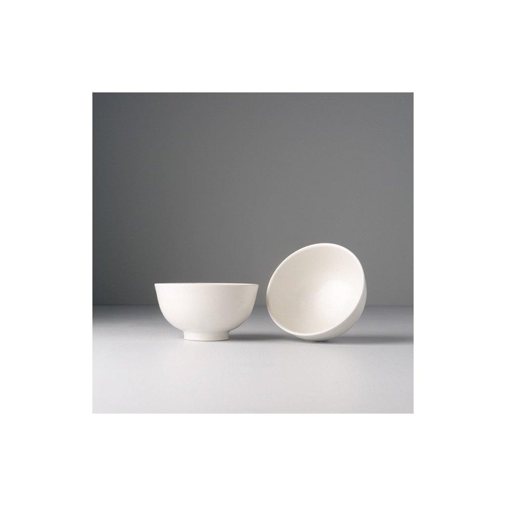Bowl for Rice, 11 x 6 cm, white