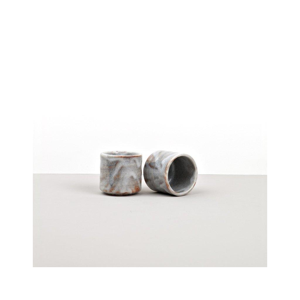 Sake Cup, Sake Cup, tall, white cloud