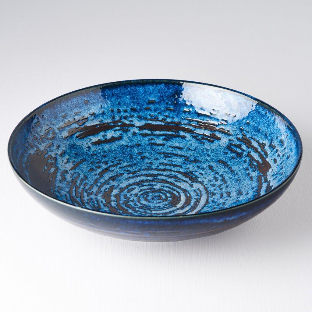 Serving Bowl, COPPER SWIRL, 28 cm