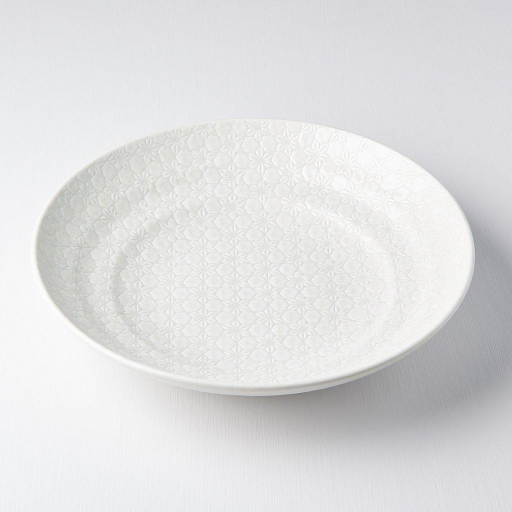 Serving Bowl, White Star, 29 cm
