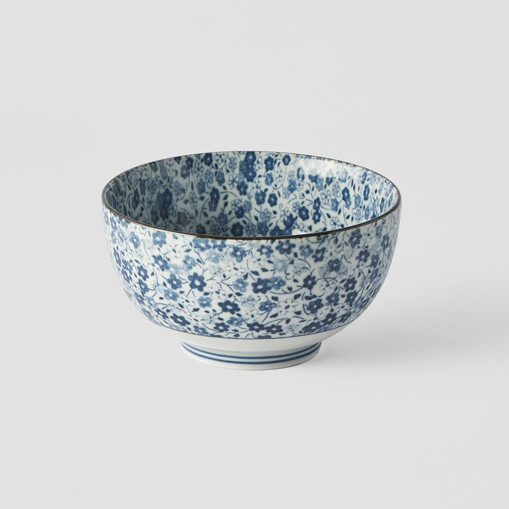 Medium Bowl Blue Daisy 13,5 × 7 cm