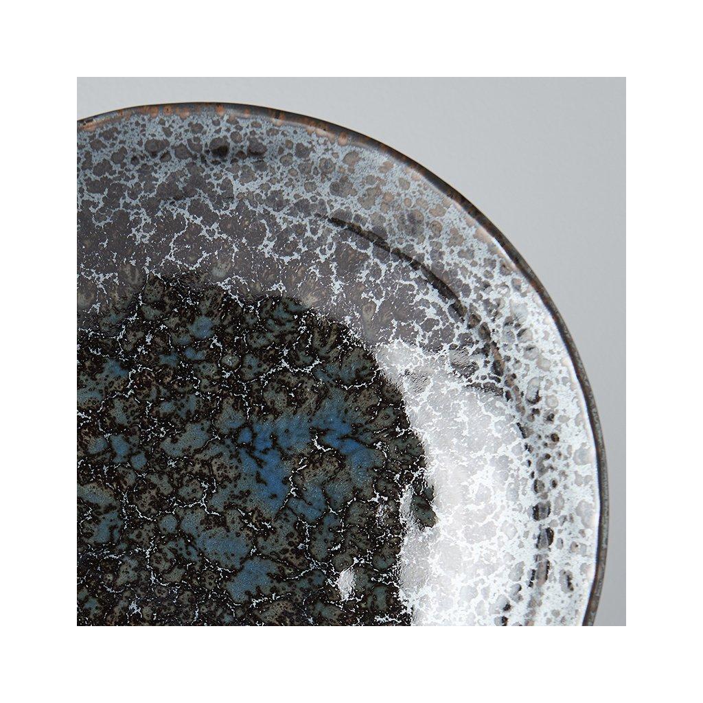 Large Flat Bowl Black Pearl 24 cm