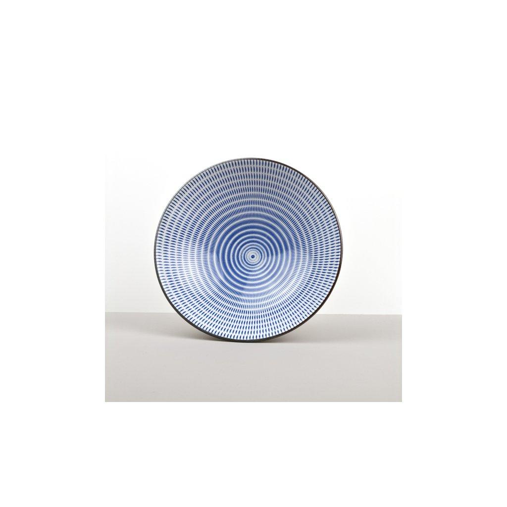 Large bowl 24 cm blue