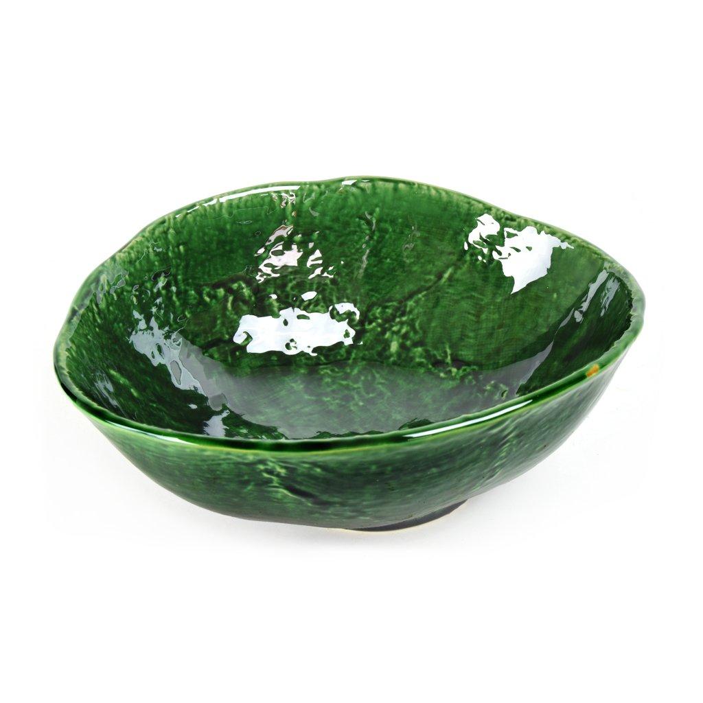 Large bowl with irregular rim Oribe 24 cm