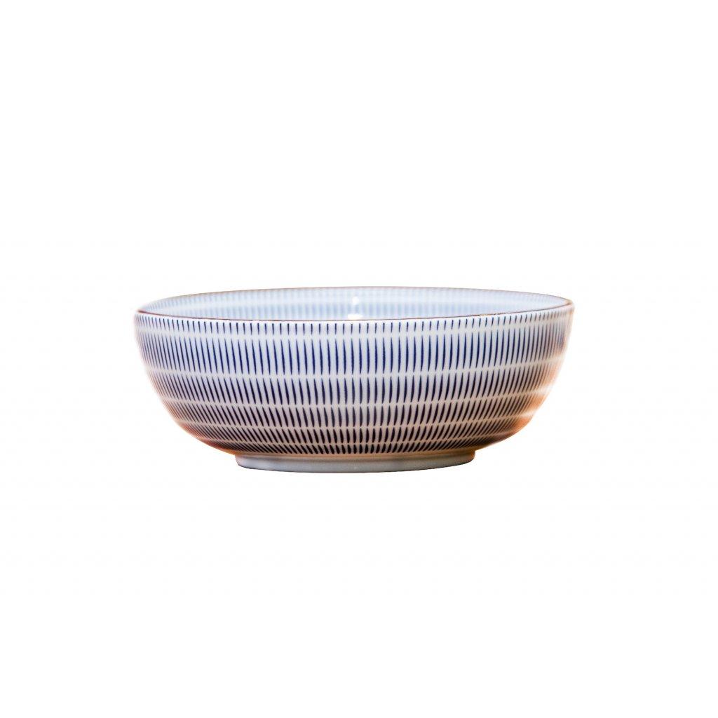 Bowl Radiating Lines U-SHAPE 20cm