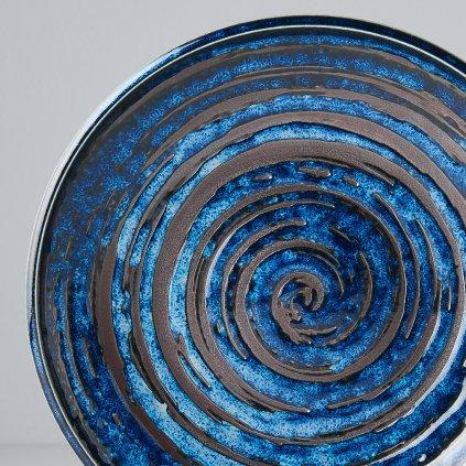 Round Plate COPPER SWIRL 20 cm