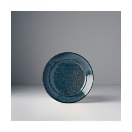 Round plate Indigo Blue 17 x 3 cm