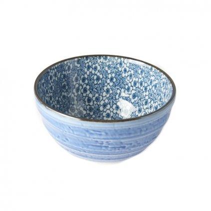 Small Bowl, DK BLUE FLOWER, 13 cm