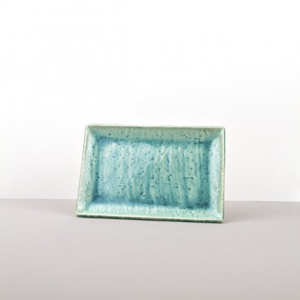 Sushi Plate Turquoise 20,5 × 13,5 cm