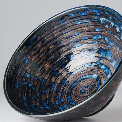 Udon Bowl COPPER SWIRL 20 cm