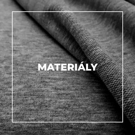 Z jakých materiálu šijeme?