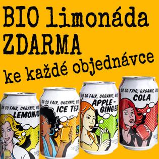 banner Bio limonáda zdarma