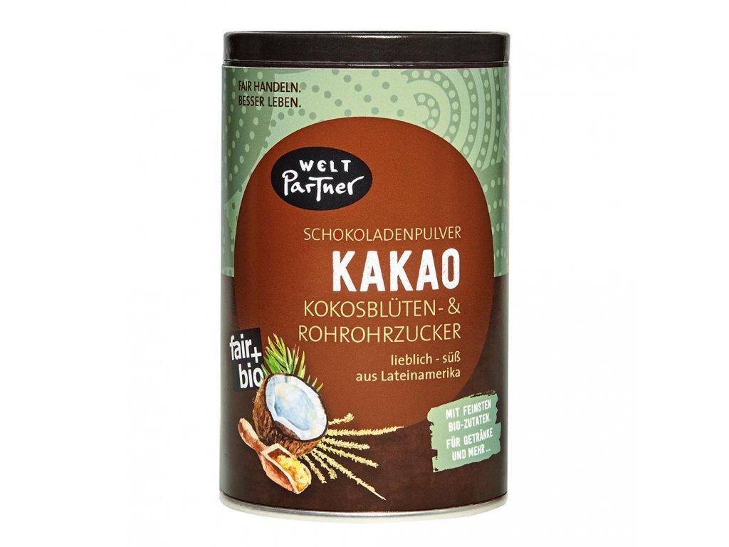 BIO kakao s kokosovým a třtinovým cukrem 250g