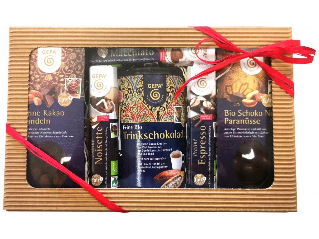 Fairtrade dárkový balíček Velké čokoládové nebe