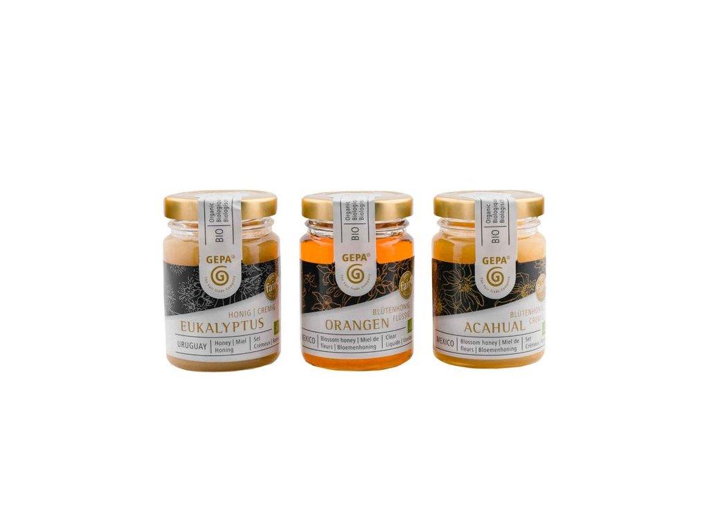 Bio medové trio