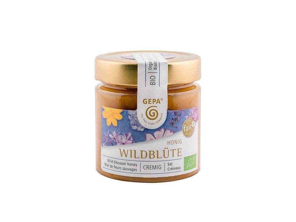 Bio med z divokých květů pastovaný 250 g