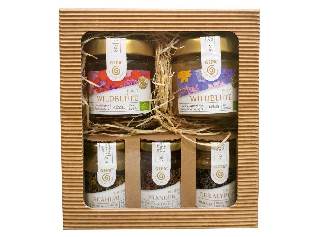Fairtrade dárkový balíček Medová klasika