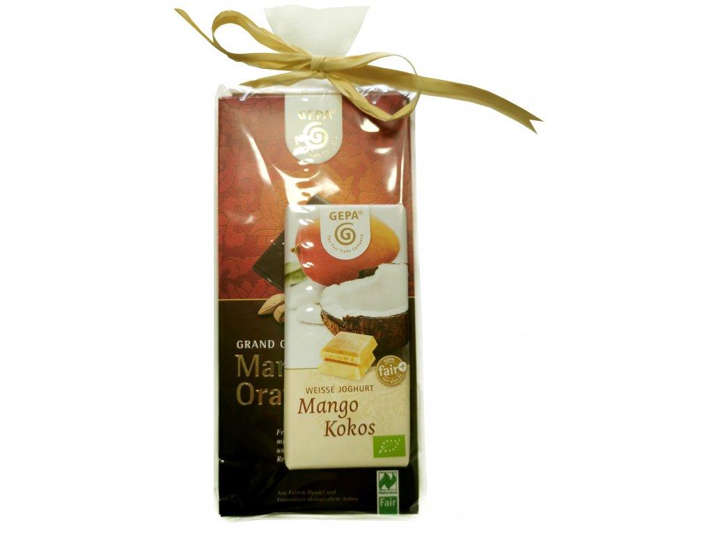 Fairtrade dárkový balíček Jednoduché poděkování
