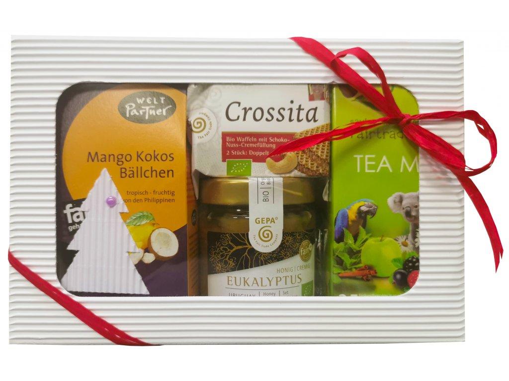 Fairtrade dárkový balíček Vánoční chvíle