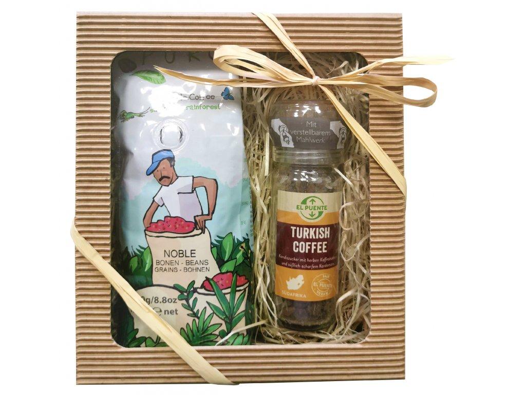 Fairtrade dárkový balíček Čas na kávu