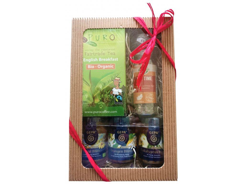 Fairtrade dárkový balíček Čas na čaj