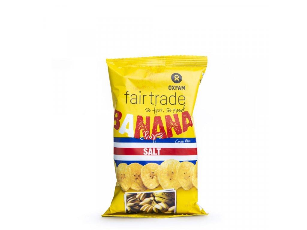 Banánové chipsy slané 85 g