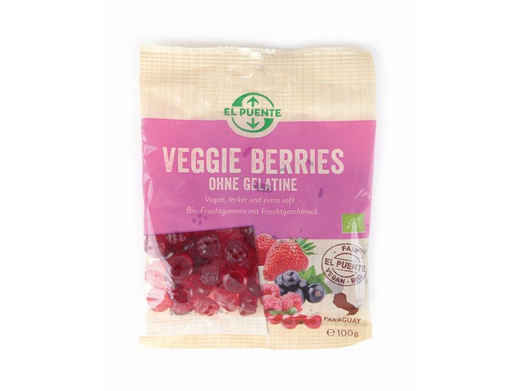 Bio veganské gumové bonbóny lesní směs 100 g