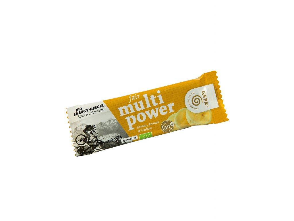 Fair Multi power tyčinka - banán 30g