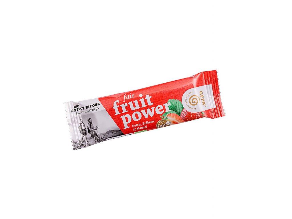 Fair Fruit power tyčinka - jahoda  30g