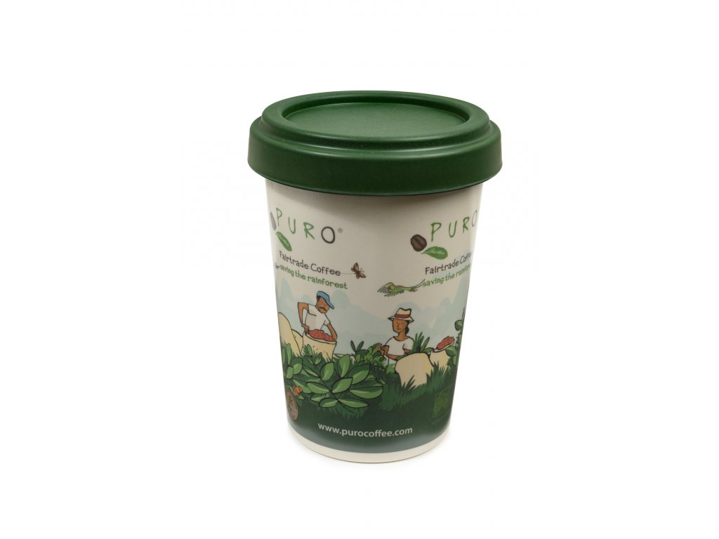 RS4324 508642 Promo Puro Storage Bamboo Box Green Lid lpr