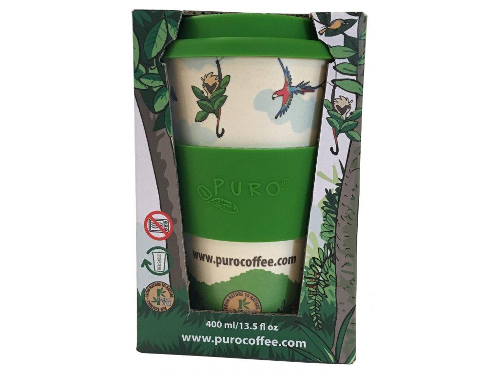 RS2771 528212 BEKER BAMBOE PURO REUSABLE 12OZ packaging