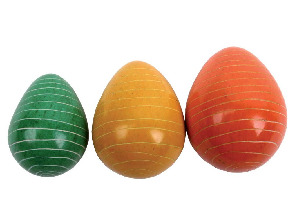 Velikonoční vajíčko z Keni - pruhované