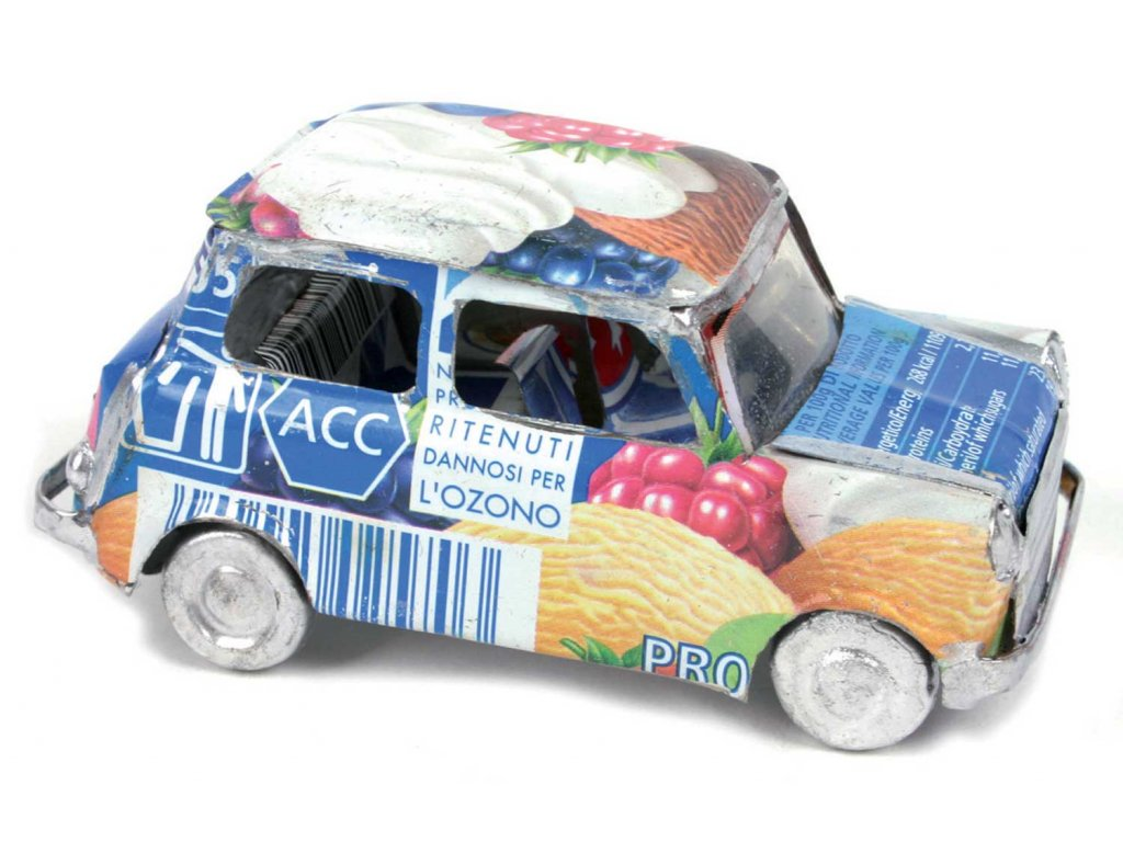 Model auta recyklo