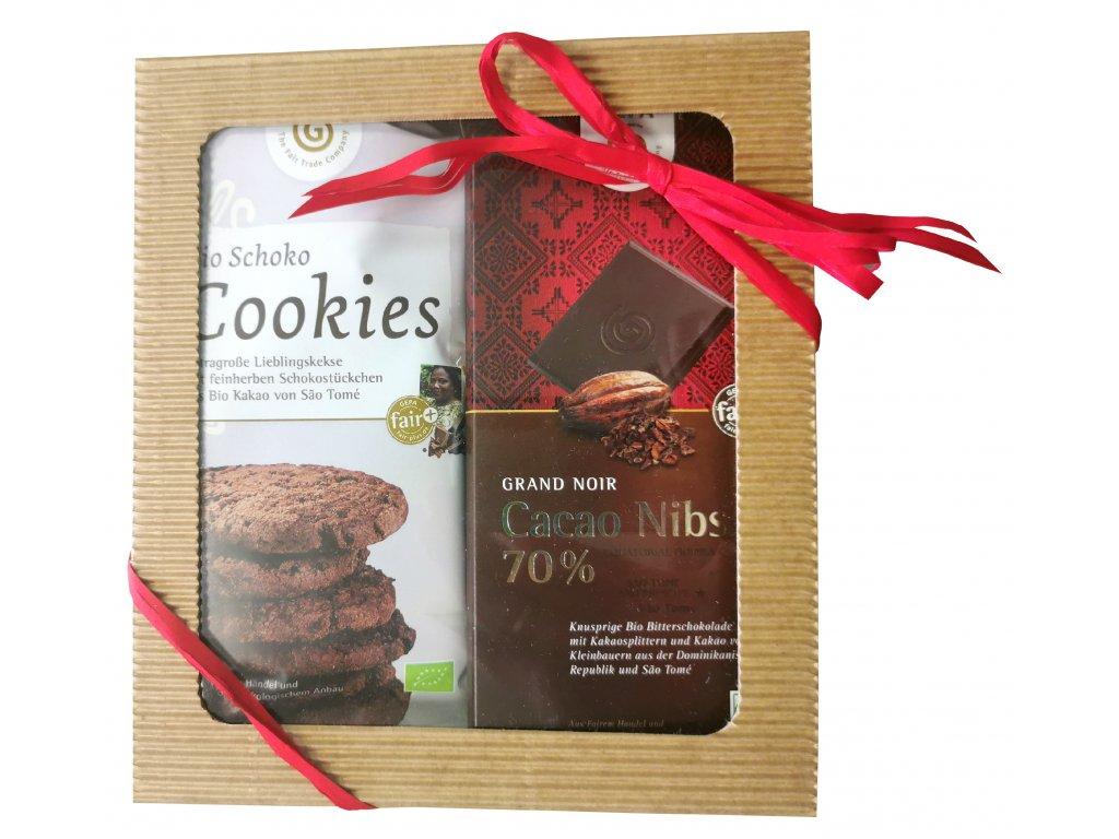 FAIRTRADE dárkový balíček Čokoládové potěšení