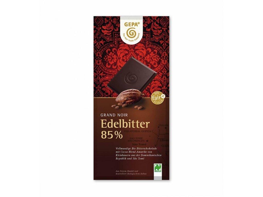 edelbitter schokolade bio 85 prozent